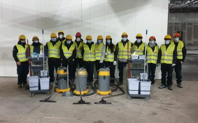 Una nuova partnership per Polisplend: il cleaning al fianco dell'industria