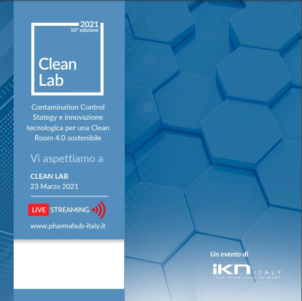 Polisplend sponsor di Clean Lab per l'edizione 2021
